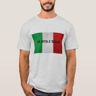 Laのvitaのeのbella、メンズワイシャツ Tシャツ