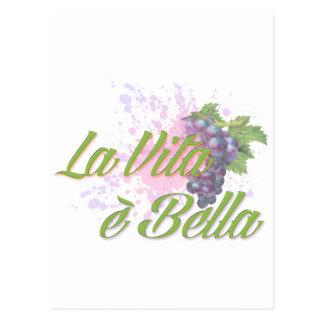 LaのVitaのe Bella ポストカード