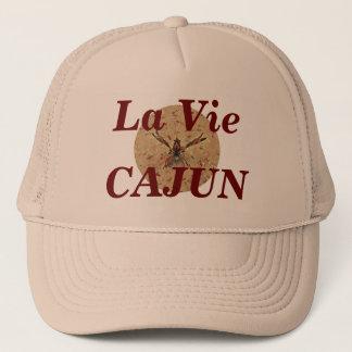 Laはケージャンベージュ色帽子を竸います キャップ
