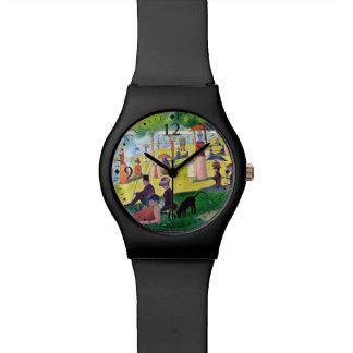 LaグランデJatteの島の日曜日の午後 腕時計