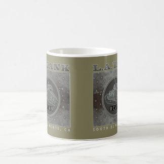 LAタンクマグのオリーブ コーヒーマグカップ