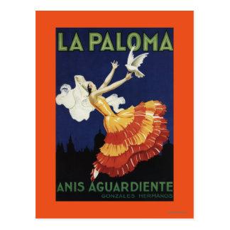 Laパロマ-昇進オオハシカッコウAguardiente ポストカード