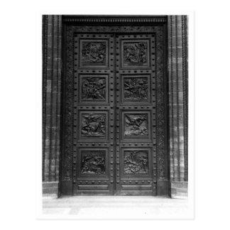 Laマドリンのドアの眺め ポストカード