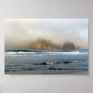 La押し、太平洋沿岸- WA ポスター