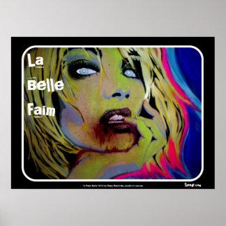 「La美女Faim」のゾンビポスター ポスター