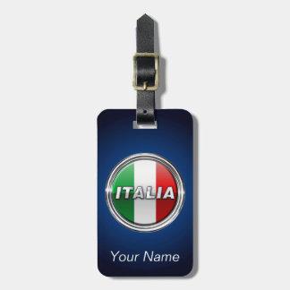 La Bandiera -イタリアンな旗 ラゲッジタグ