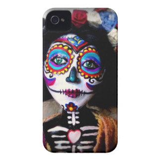 La Catrinaは祖先の精神を実施します Case-Mate iPhone 4 ケース