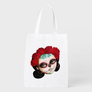 La Catrina - Dia de Los Muertos Girl エコバッグ