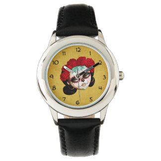 La Catrina - Dia de Los Muertos Girl 腕時計