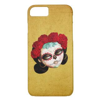 La Catrina - Dia de Los Muertos Girl iPhone 8/7ケース