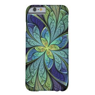 La Chanteuse IVはステンドグラスパターンを抽出します Barely There iPhone 6 ケース
