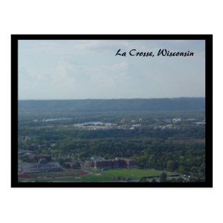 La Crosseウィスコンシン ポストカード