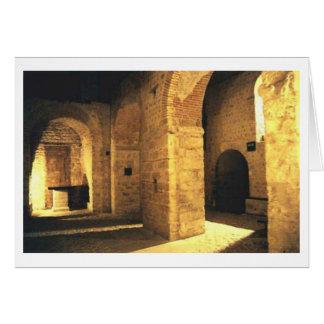 La Crypte Ouest Notre Dame カード