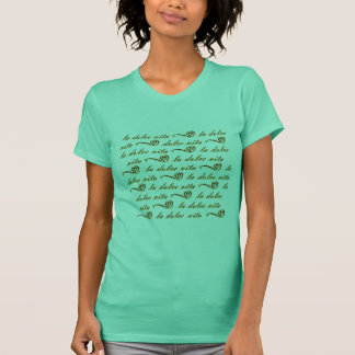 La Dolce Vita Tシャツ