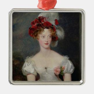 La Duchesse de Berry c.1825 メタルオーナメント