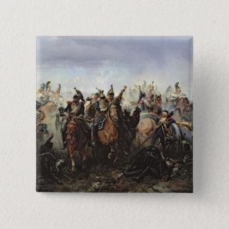 La Fere-Champenoiseの戦い 5.1cm 正方形バッジ