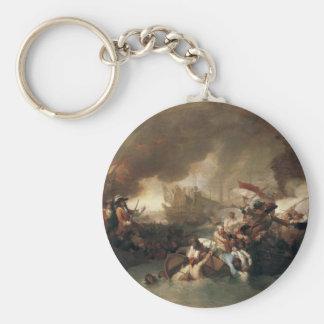 La Hogueのフランス人の破壊の戦い キーホルダー