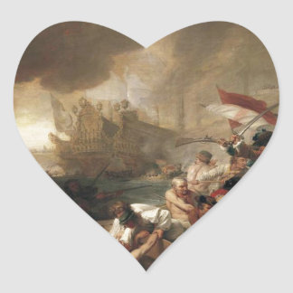 La Hogueのフランス人の破壊の戦い ハートシール