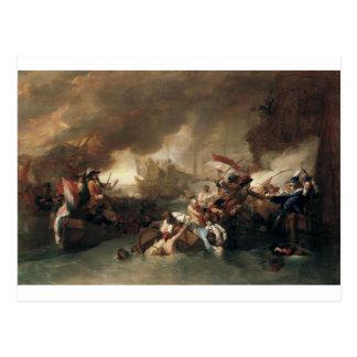 La Hogueのフランス人の破壊の戦い ポストカード