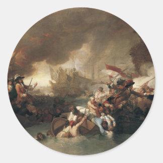 La Hogueのフランス人の破壊の戦い ラウンドシール
