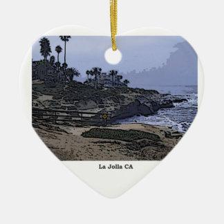 La Jollaの入江の眺め セラミックオーナメント