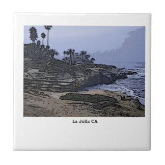 La Jollaの入江の眺め タイル