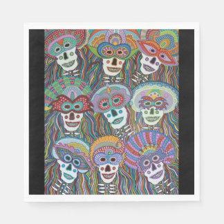 La Mascarada de los Muertos スタンダードランチョンナプキン