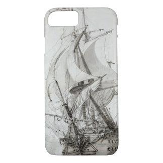 La Montagne、c.1794 (w/c及びインクはペンで書いて下さい) iPhone 8/7ケース
