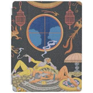 La Paresse 1924年(pochoirのプリント) iPadスマートカバー