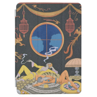 La Paresse 1924年(pochoirのプリント) iPad Air カバー