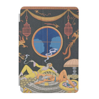 La Paresse 1924年(pochoirのプリント) iPad Miniカバー