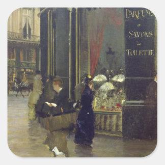 La Parfumerie Viollet、通りdes Capucines スクエアシール