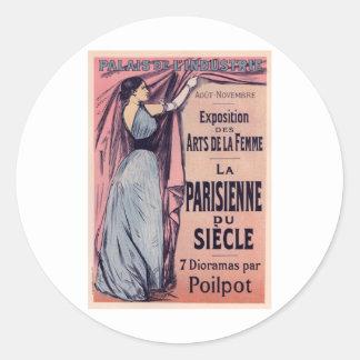 La Parisienne Du Siecle ラウンドシール