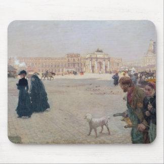 La Place du Carrousel、パリ マウスパッド