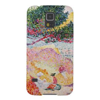 La Plage de聖者Clair 1906-07年 Galaxy S5 ケース