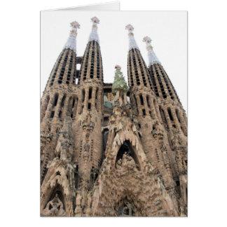 La Sagrada Familia -バルセロナ-挨拶状 カード