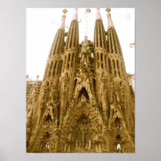 La Sagrada Família ポスター