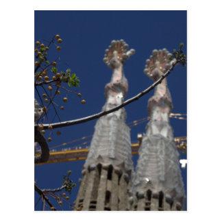 La Sagrada Família ポストカード