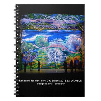 LA SYLPHIDEのリハーサルのノート ノートブック