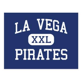 La Vega -海賊-高等学校- Wacoテキサス州 ポストカード