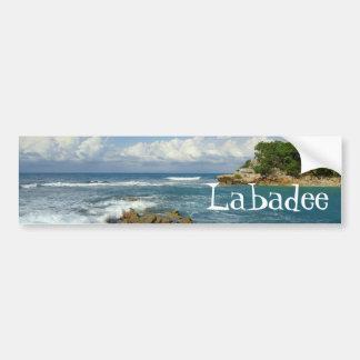 Labadeeの海景 バンパーステッカー