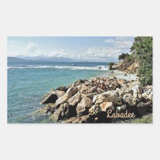 Labadieの海景第2 長方形シール