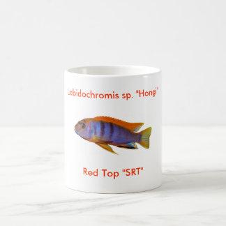 """Labidochromis sp。 """"Hongi """" コーヒーマグカップ"""