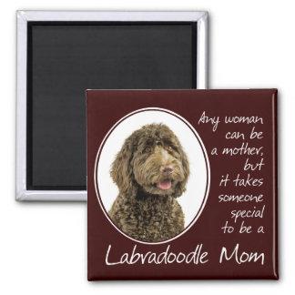 Labradoodleのお母さんの磁石 マグネット
