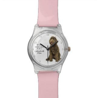 Labradoodleのお母さんの腕時計 腕時計