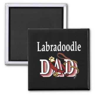 labradoodleのパパの磁石 マグネット