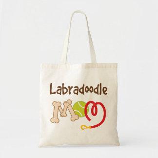 Labradoodle犬の品種お母さんのギフト トートバッグ