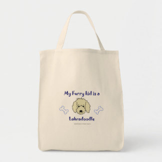 labradoodle トートバッグ