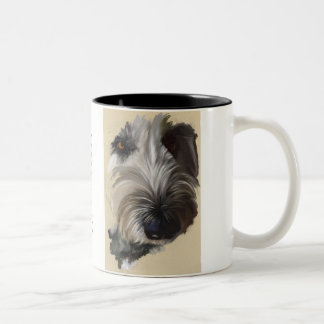 Labradoodle Coffee Mug - Original Art ツートーンマグカップ