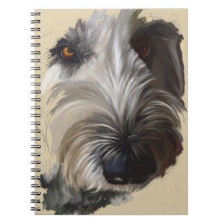 Labradoodle Notebook - Original Artwork ノートブック